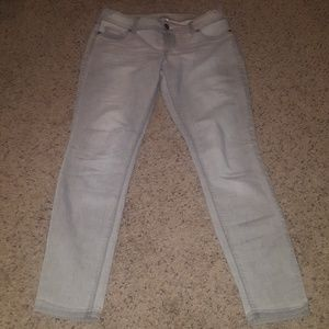 Maurices grey jeggings size L-R
